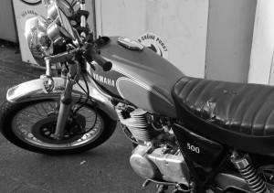 Yamaha-SR 500