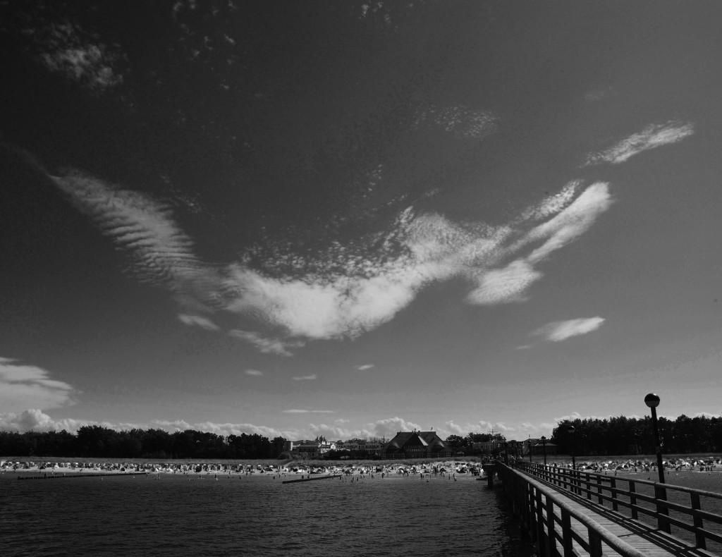 Cirruswolken über Zingst