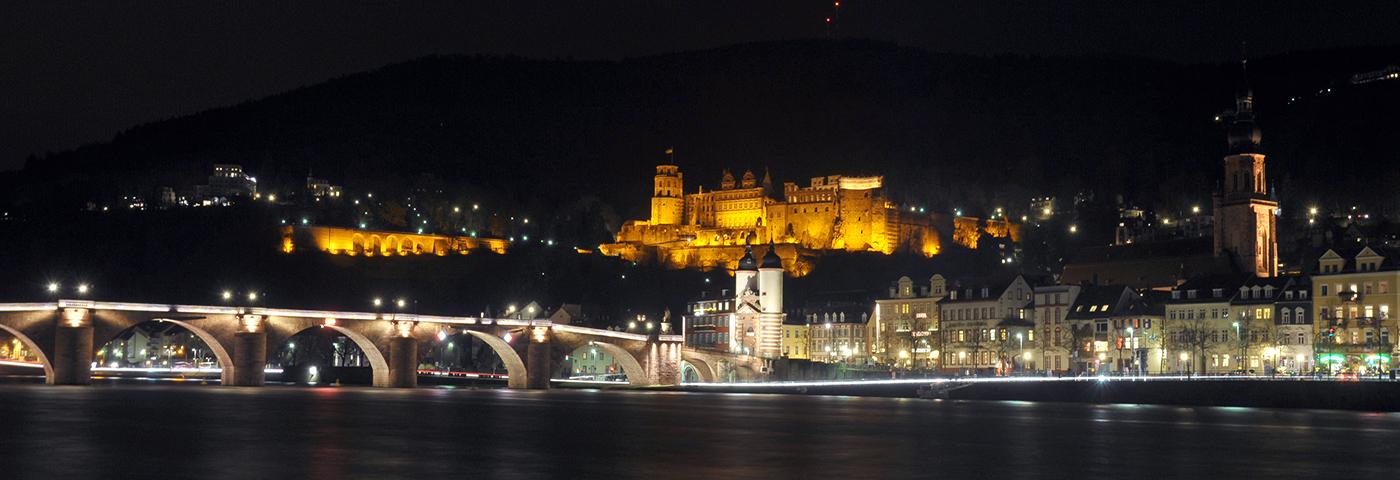 Schloss-Brücke-Heidelberg